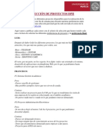 SELECCIÓN DE PROYECTOS DPII
