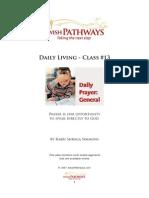Daily Prayer - General