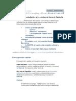 Información para estudiantes procedentes de fuera de Cataluña
