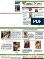 Central Newsletter March 2013