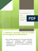 Unidad I investigación de operaciones (1)