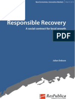 Responsible Recovery