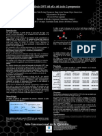 Calculo DFT del pKA  del ácido 2-propenoico