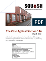 The Case Against Section 144