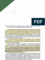 Martin Lienhard; Critica La Voz y Su Huella