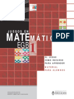 2º JUEGOS DE MATEMATICA