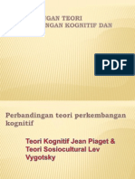 Perbandingan Teori Perkembangan Kognitif Dan Bahasa