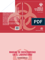 OMS Manual Bioseguridad