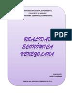 Realidad Economica de Vzla.