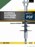 22 Dead-end & suspension insulators