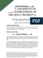 Ahadeeth Us-Sunnah - Ahmad Raza Khan
