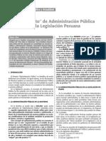 Que Es Administracion Publica