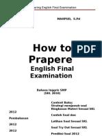 Preparing English Examination