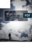 What's Your Glory? - A Devotion
