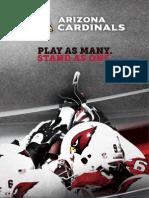 2012 Arizona Cardinals Media Guide