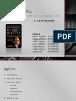 The Snowball - Warren Buffett and the Business of Life