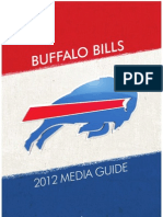 2012 Buffalo Bills Media Guide