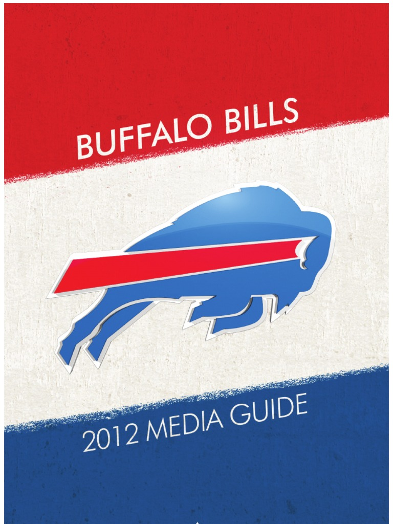 2012 Buffalo Bills Media Guide Alabama Crimson Tide Football Wiring Diagram Omc 583653 National League