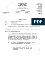 Acca Constitutional Avoidance Oregon Federal Defender