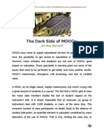 The Dark Side of MOOCs