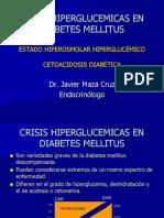 Crisis Hiperglucemicas en Diabetes Mellitus
