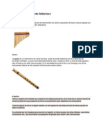 Instrumentos de Viento Folkloricos