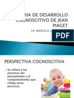 Teoria de Desarrollo Cognoscitivo de Jean Piaget