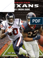 2011 Houston Texans Media Guide (252p)