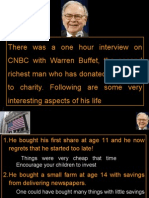 Warren Buffet's Lifestyle