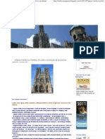 A Igreja Católica na História_ fé, razão e civilização se encontram