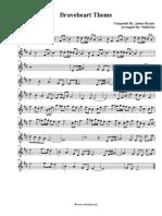 Braveheart Theme Violin