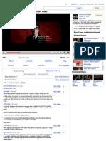 YouTube - Common Purpose - Official Propaganda Video