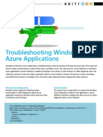 Troubleshooting Windows Azure