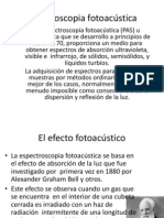 Espectroscopia fotoacústica
