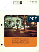 Sterner Lighting Illuminated Rail-Lite Brochure 1981