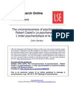 Castel Psychoanalysis Colin Gordon Pp109 127