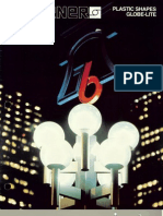 Sterner Lighting Plastic Shapes Globe-Lite Brochure 1985