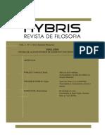 90831663 HYBRIS Revista de Filosofia Vol3 n1