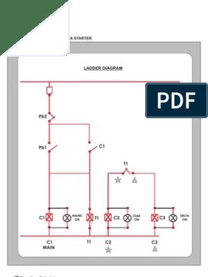 Semi Automatic Star Delta Starter Connection Diagram Semioanalysisdiscoteche