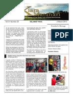 RCBKS Bulletin Vol 21 No 29