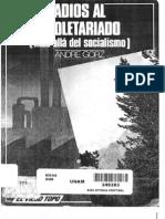 102871690 1980 Andre Gorz Adios Al Proletariado Mas Alla Del Socialismo