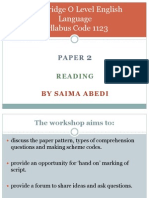 1123 Paper 2 Guidelines