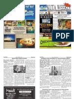 "Kuta Weekly-Edition 325 ""Bali""s Premier Weekly Newspaper"""