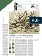 IL MUSEO DEL MONDO 10 - L'albero grigio di Piet Mondrian (1911) - La Repubblica 03.03.2013