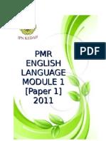 86904743 Pmr English Language Module 1 Paper 1