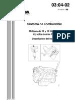 03 04 02  Sistema de combustible%2C Motores de 9%2C 12 y 16 litros con PDE Descripción del trabajo  %5B3%5D