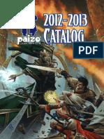 Paizo Catalog 2012