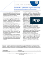 1325827641~~Subordinate Committee Recommendations 2011