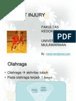 Pelatihan Sport Injury