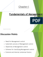 1. Fundamentals of Management Control